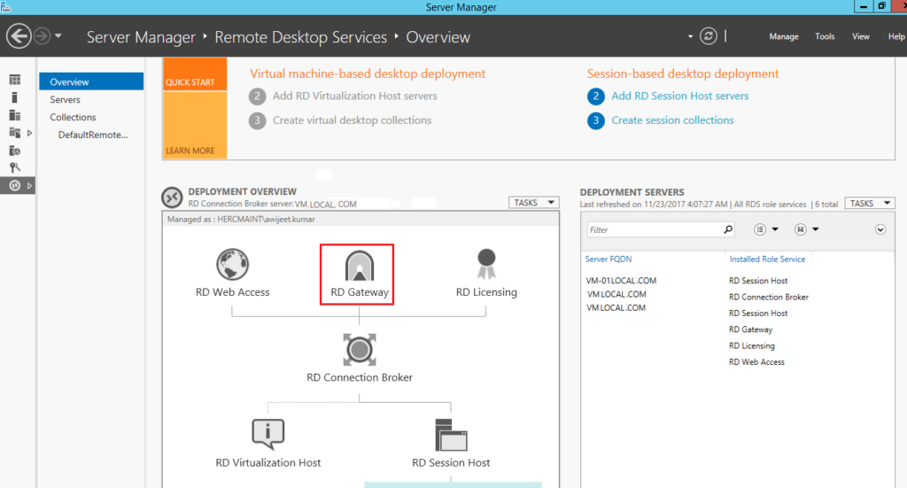 Steps To Implement RD Gateway To Access Any Windows Machine