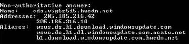 Windows update CDN