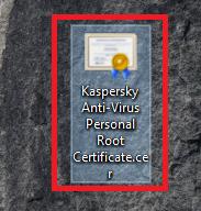 Kaspersky Anti-Virus Personal Root Certificate.cer