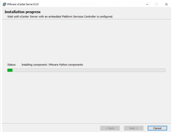 finally verify the configuration