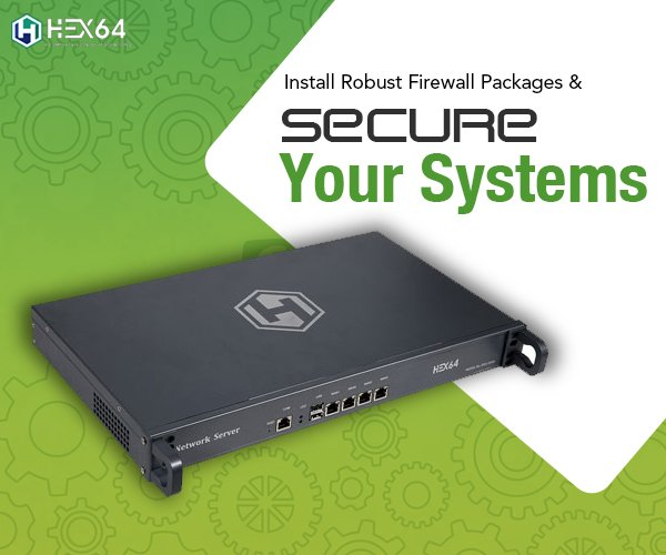 Firewall service package