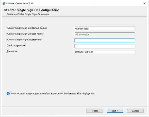Create a new Single Sign-On domain