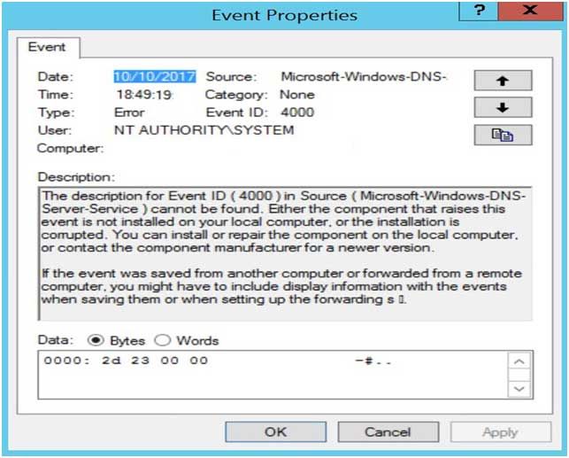 fixing dns server zone load errorHow To Resolve Event Id 4000 #5