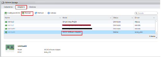 VMware ESXi 6 5 & 6 7 Can't Add Existing iSCSI LUN