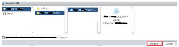 register VM