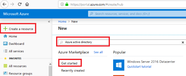 How to create Azure AD and connect IT to Azure AD VM