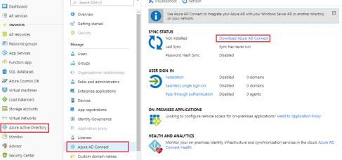Azure Active directory portal