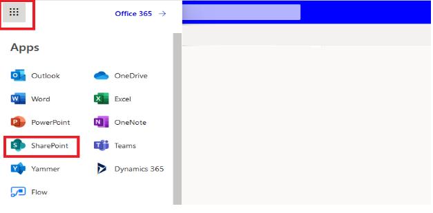 access SharePoint