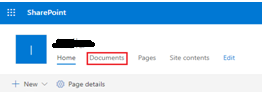 click on documents tab