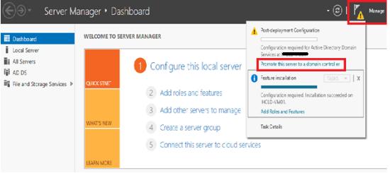 server to a domain controller